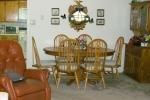 Mark III 2 Bedroom Unit Dining Area