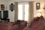 Mark V 2 Bedroom Unit Living Room