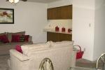 Mark V 1 Bedroom Unit Living Room