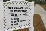 Mark VI Walking Track 1/3 Mile