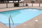 Mark VI Gated Pool Area with 2 Pools and 2 Gazebos