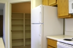 Mark VI 2 Bedroom Unit Kitchen with Walk-in Pantry