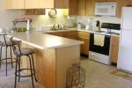 1 Bedroom Unit Kitchen