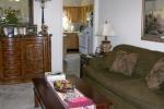 Mark VI 2 Bedroom Unit Living Room